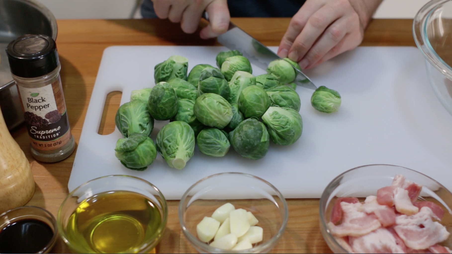 Prep Those Brussel Sprouts