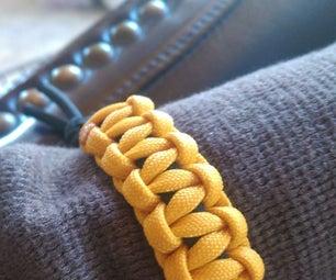 Cobra Weave Paracord Bracelet (No Buckle)