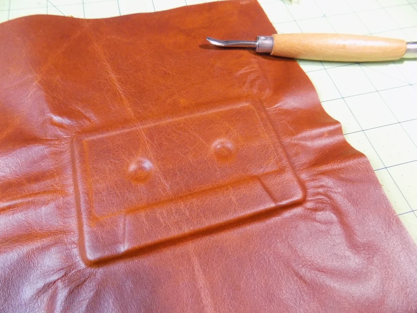 Leather Front