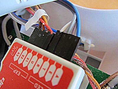 Install the 4-Pin Extension Wire