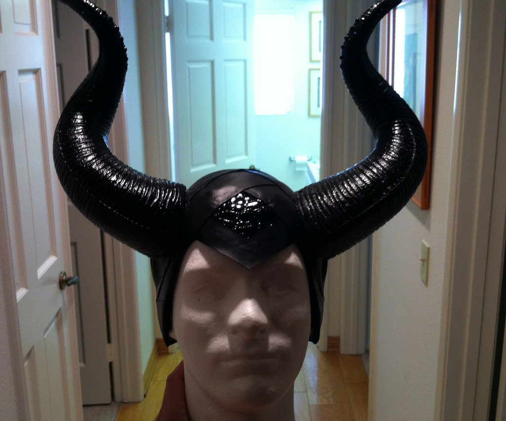 Maleficent Headpiece and Prop Tutorial
