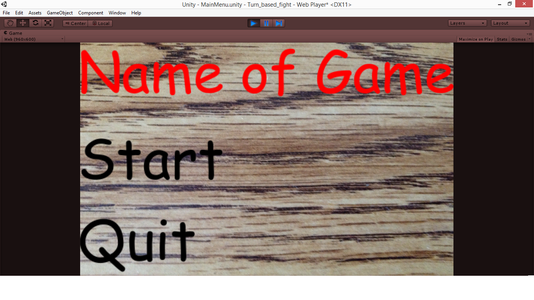 How to Make a Main Menu in Unity