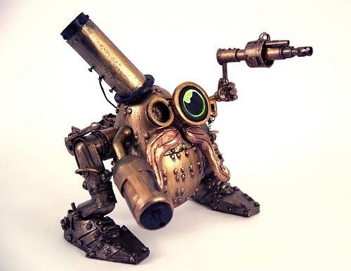 How to make a Steampunk Mr. Potato Head