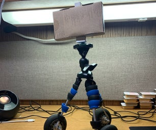 Smartphone Tripod With Extension Wheels