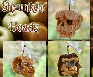 Shrunken Apple Heads
