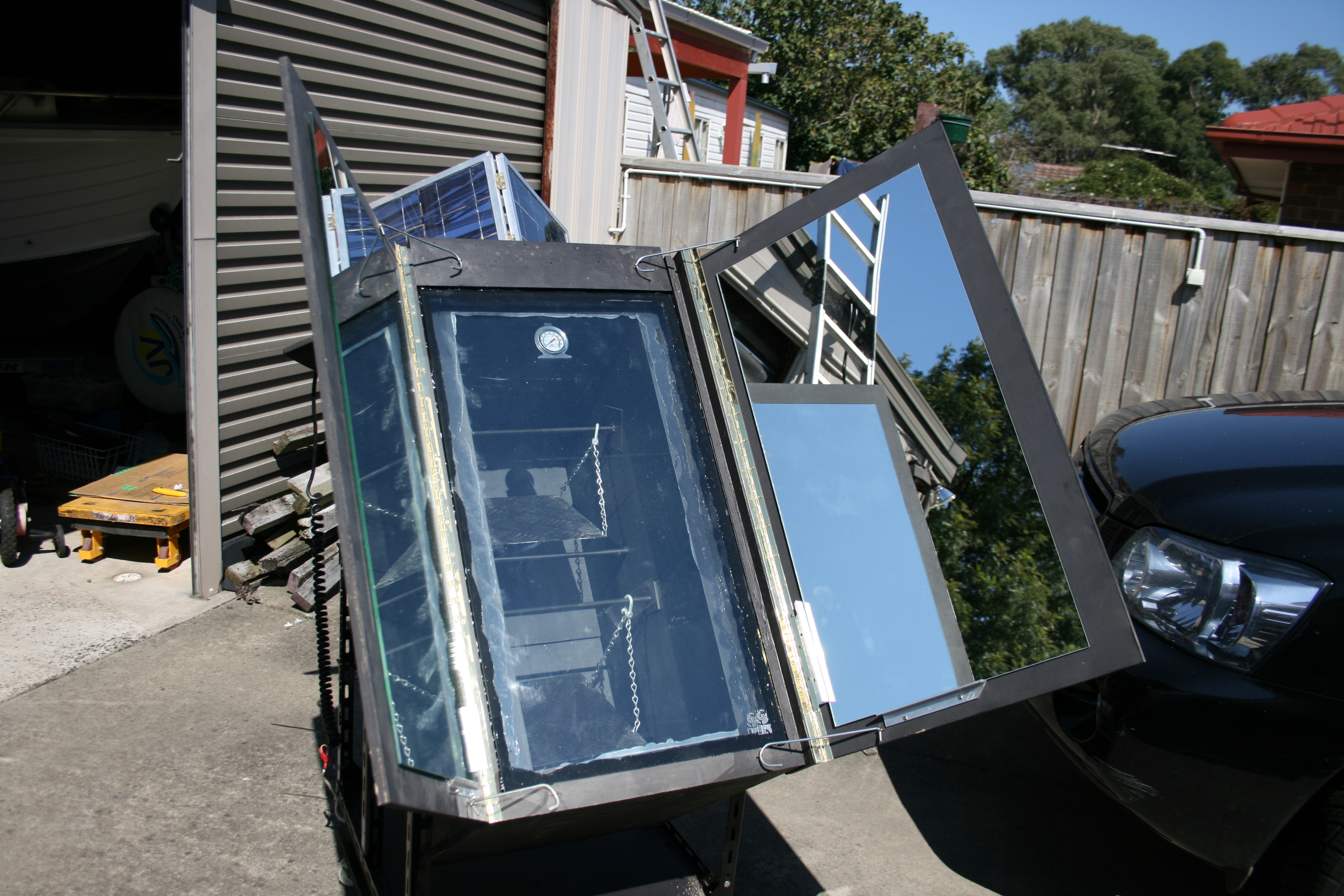 Solar Oven With Tracking...