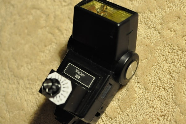 Modify a Vivitar 283 to Have a Fully Adjustable Output