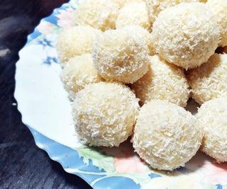 Easy One Pot Raffaello Wannabe Bonbons