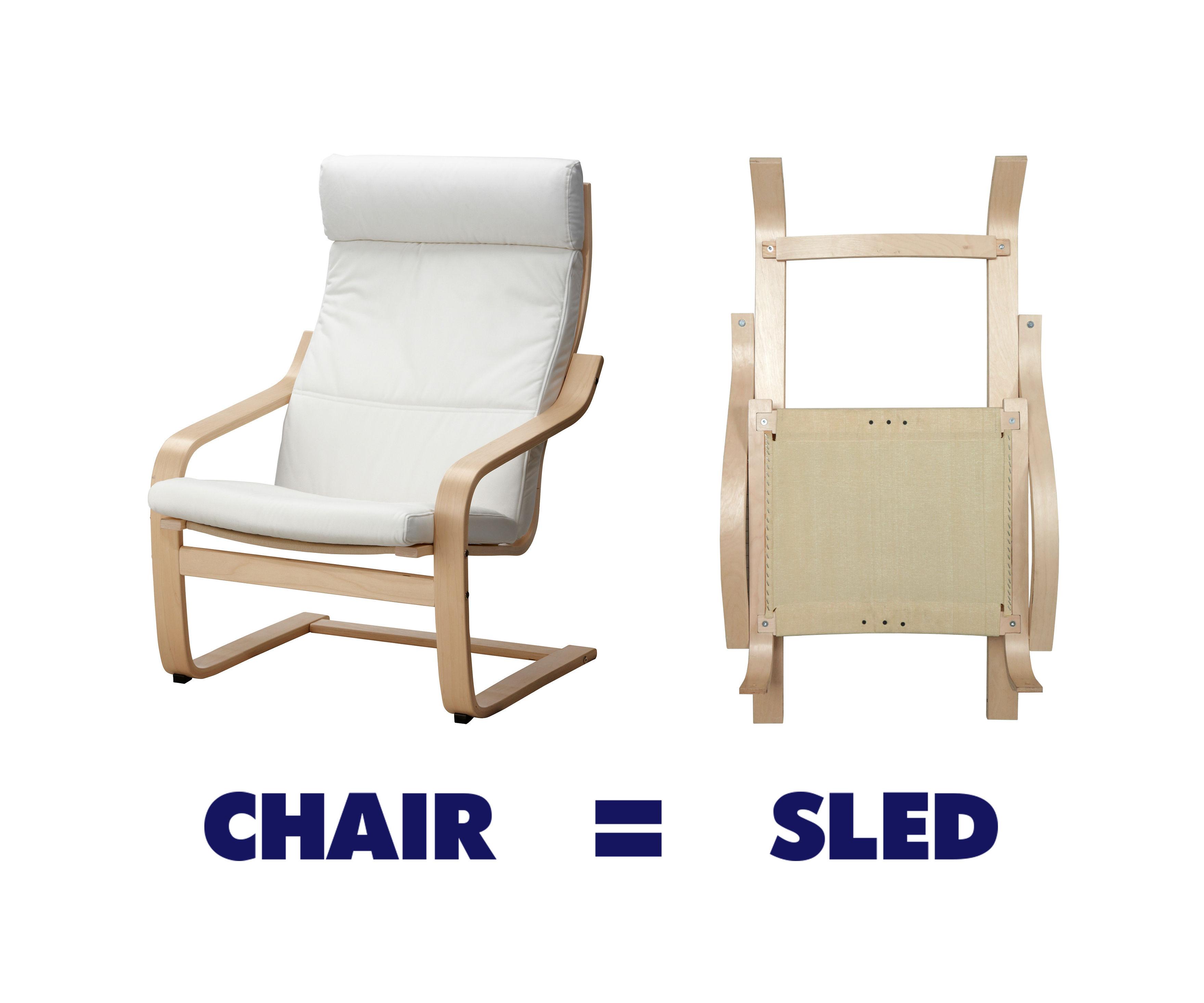 Ikea Chair Sled