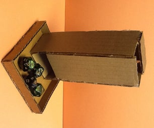 How to Make a Cardboard Tumbling Dice Tower!