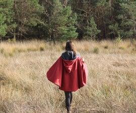 Little Red Riding Hood Invertible Wolf Cloak