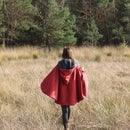 Little Red Riding Hood Invertible Wolf Cloak