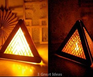 Diy Pyramid Decor Making