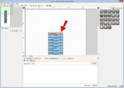 Start Visuino, and Select the Arduino UNO Board Type