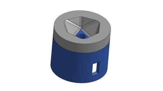 CAD for the Dice Holder