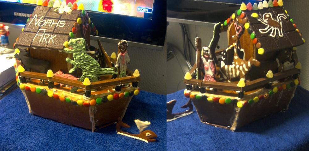 Noahs Gingerbread Ark