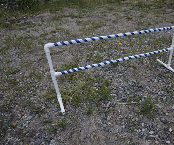 Adjustable Two Tier PVC Dog Jump