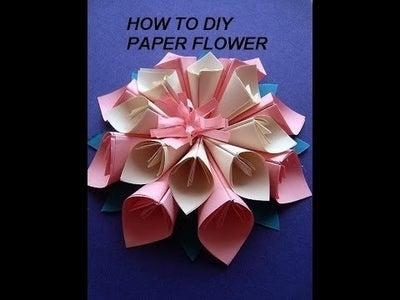 PAPER KANZASHI FLOWER