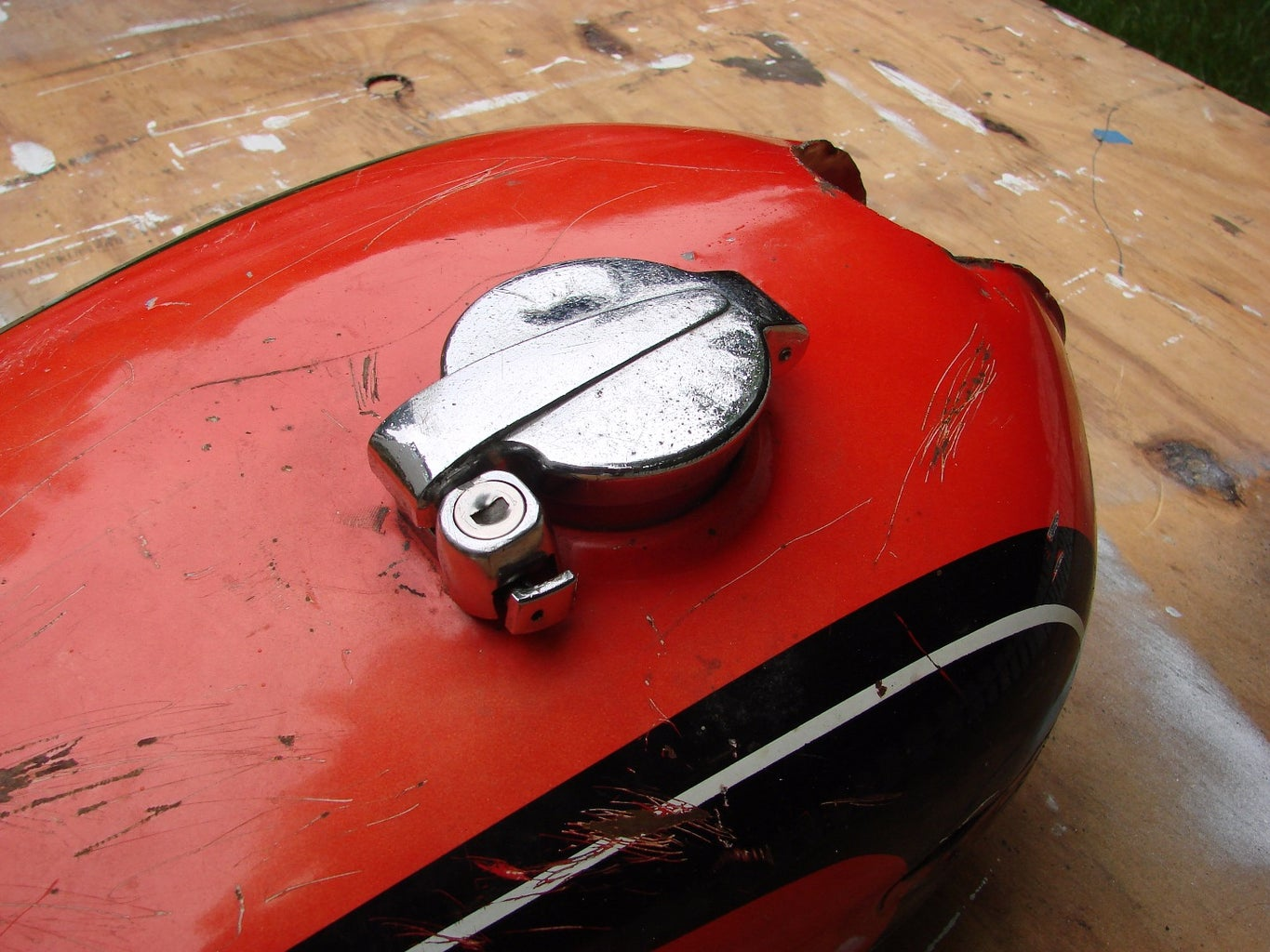 Removing the Old Gas Cap