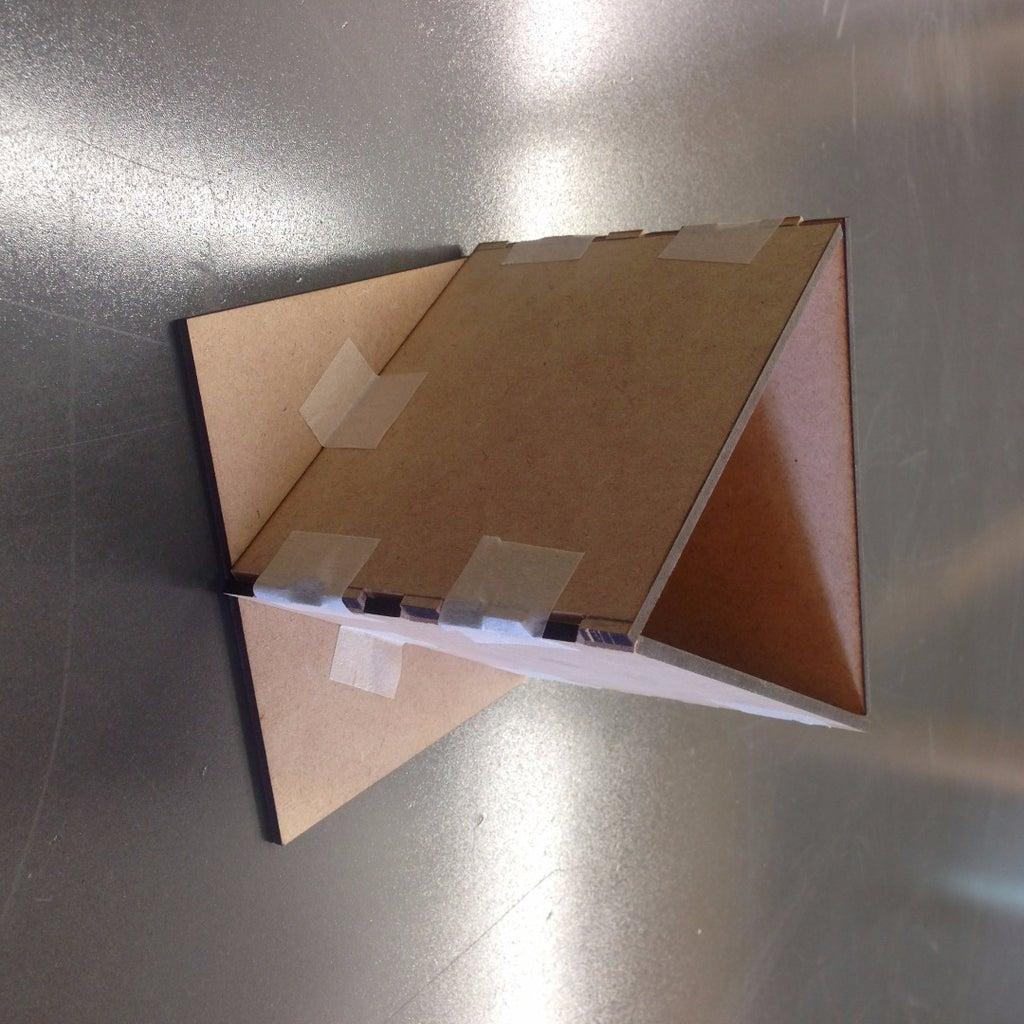 Ensambla La Caja Para Marcar Las Tapas