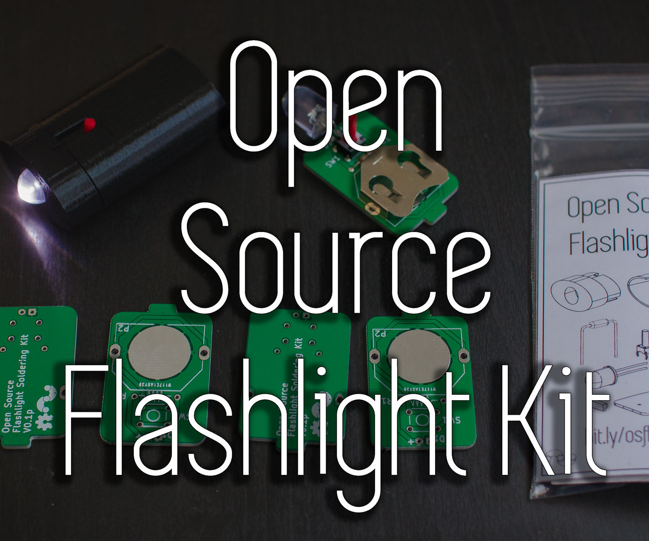 Open Source Flashlight Kit