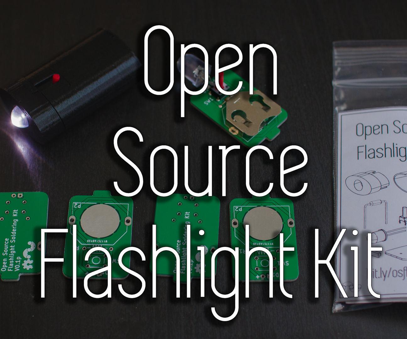 Open Source Flashlight Kit