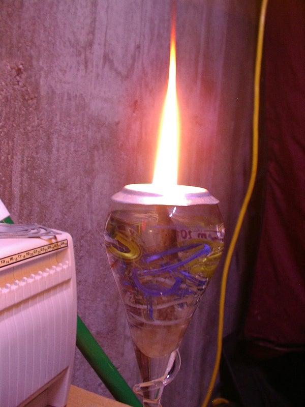 Custom Oil Lamp
