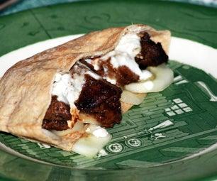 Cinnamon Souvlaki-Pita