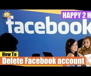 How to delete facebook account permanently.
