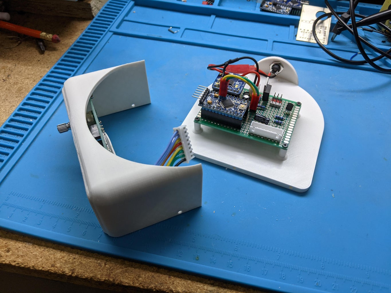 3D Print and Assemble Front and Base Plate