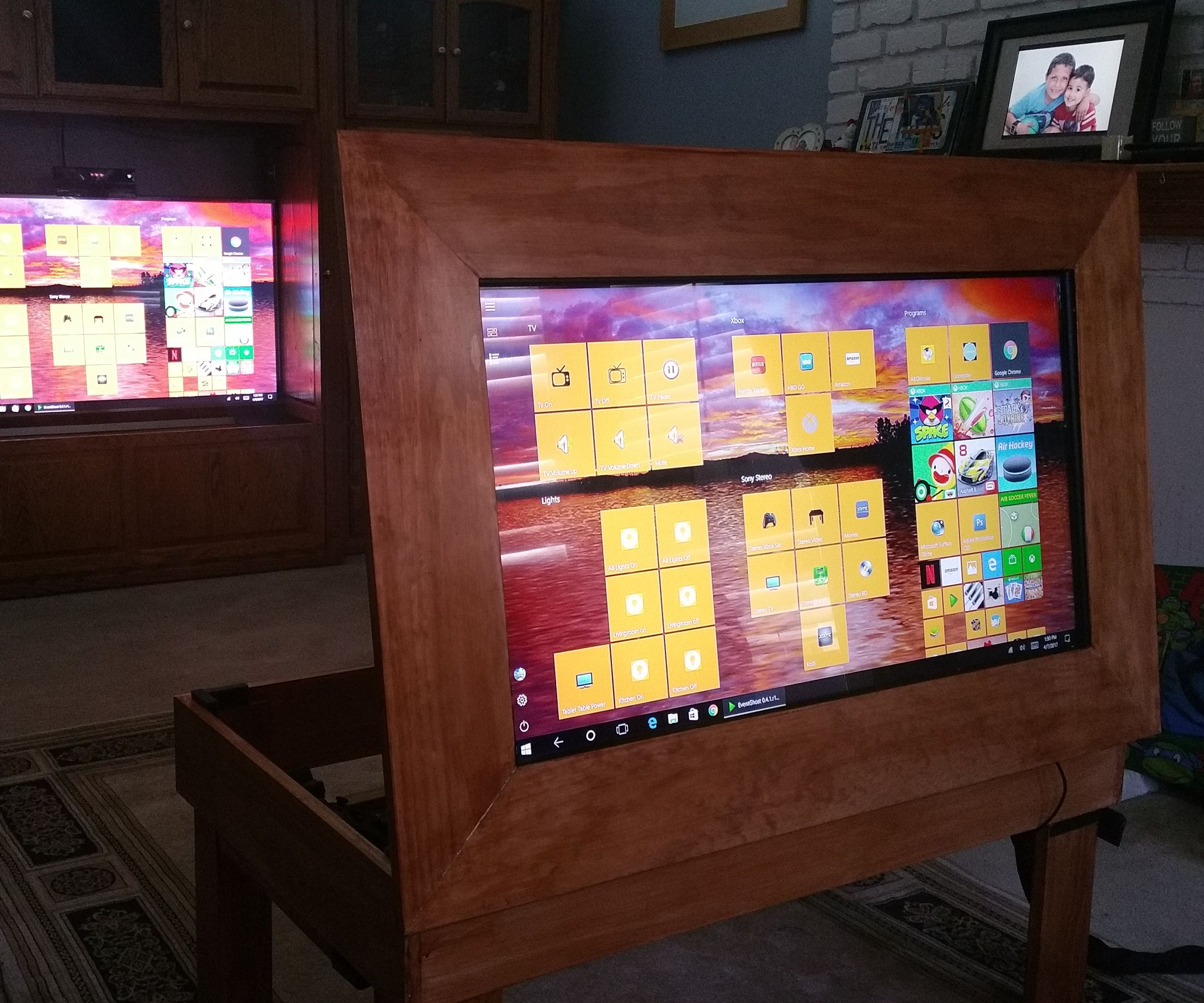 Touch Screen Smart Coffee Table Tablet