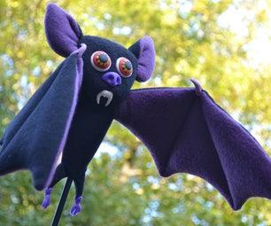 Bat on a Stick Puppet
