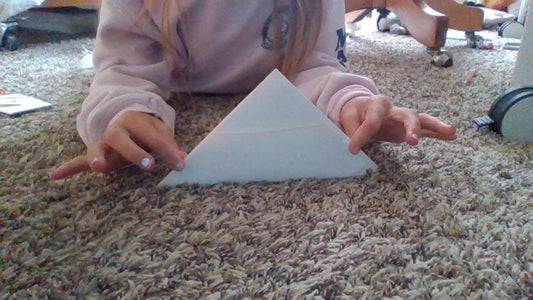 Step 5: Fold Bottom Half Up