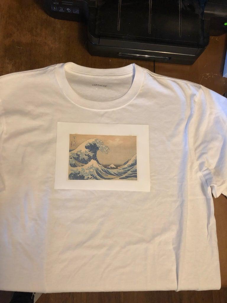 Transferring to Shirt