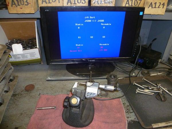 Interfacing a Digital Micrometer to a Arduino & VGA Monitor