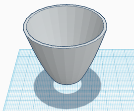 Ice Cup Attachment on TinkerCAD