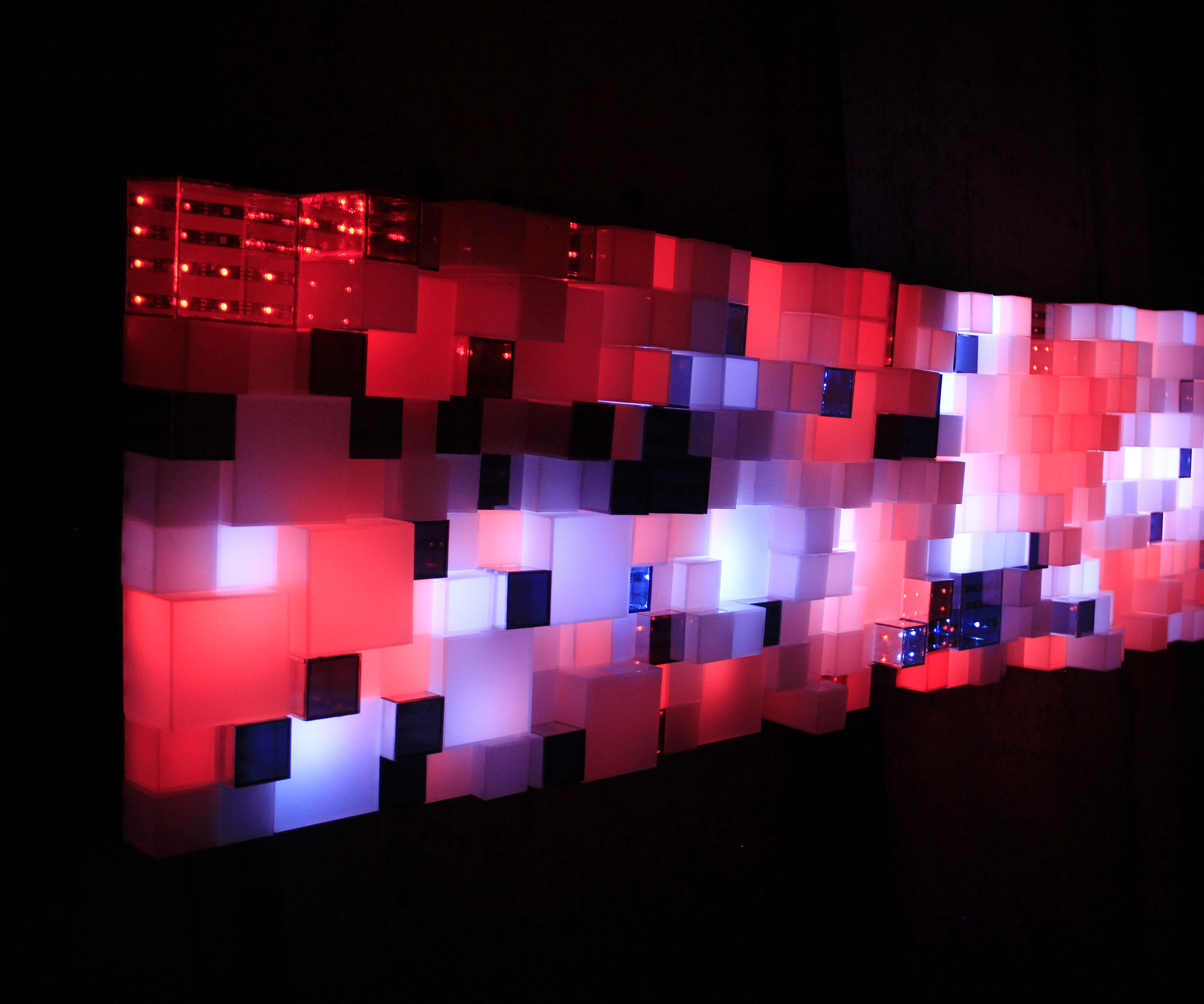 Lux Aeterna - Data Enabled Light Sculpture