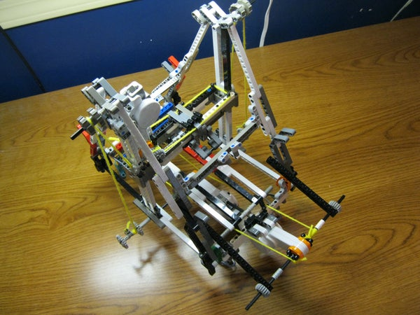 Lego 3D Printer/plotter