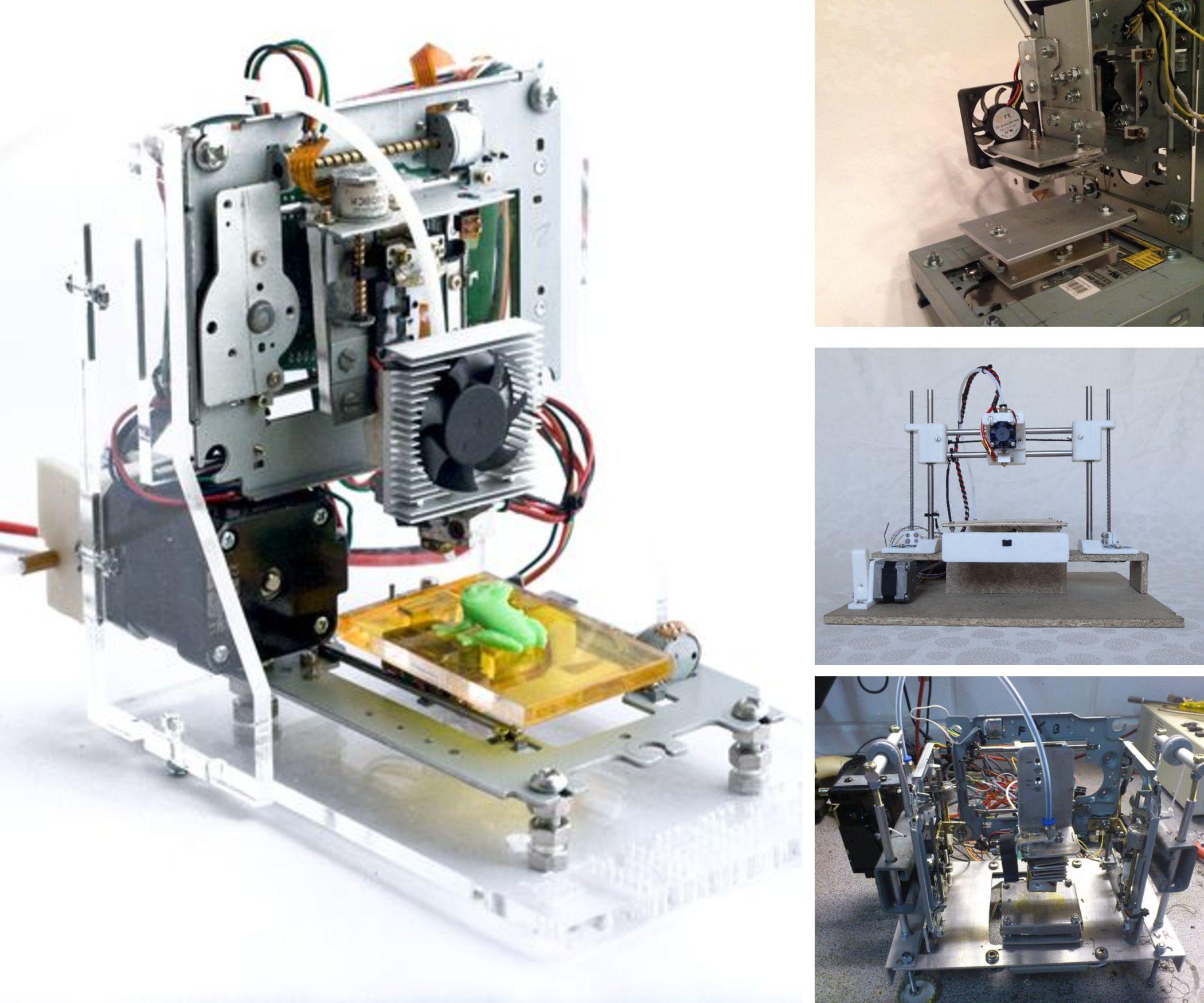 DIY 3D Printers for less 200$