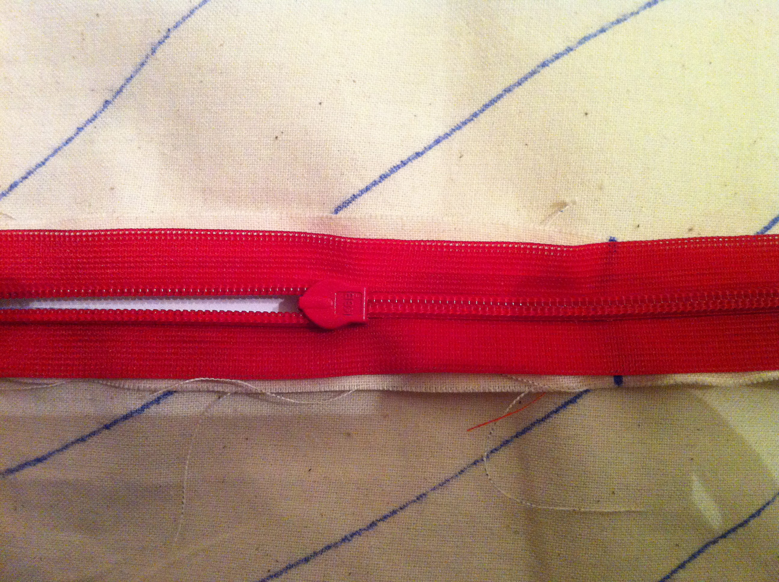 Invisible zipper how-to
