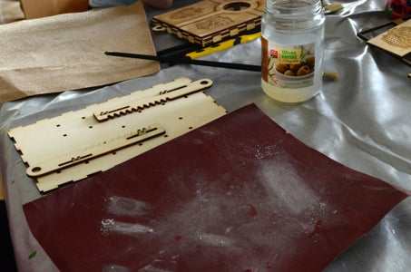 Sanding and Testing the Mechanism