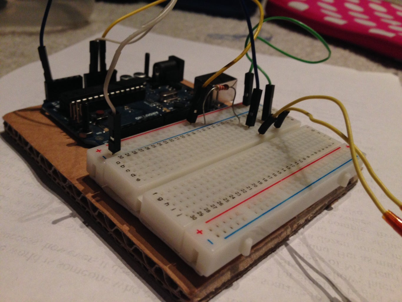 Building a Temperature Sensor Circuit