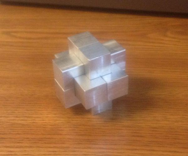 An Aluminum Burr Puzzle