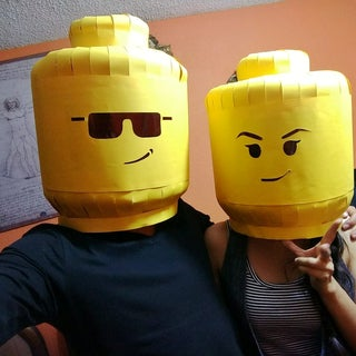 Lego Man Head Mask