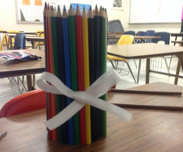 Color Pencil Vase