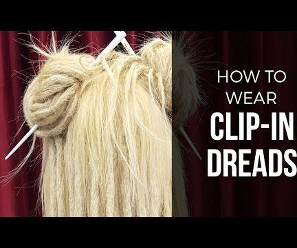 How to Install a Dreadlock Clip Set