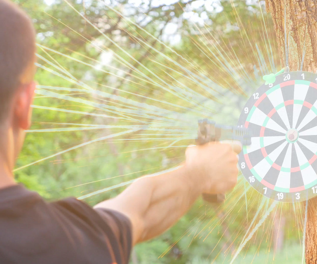 How to Make an Exploding Target
