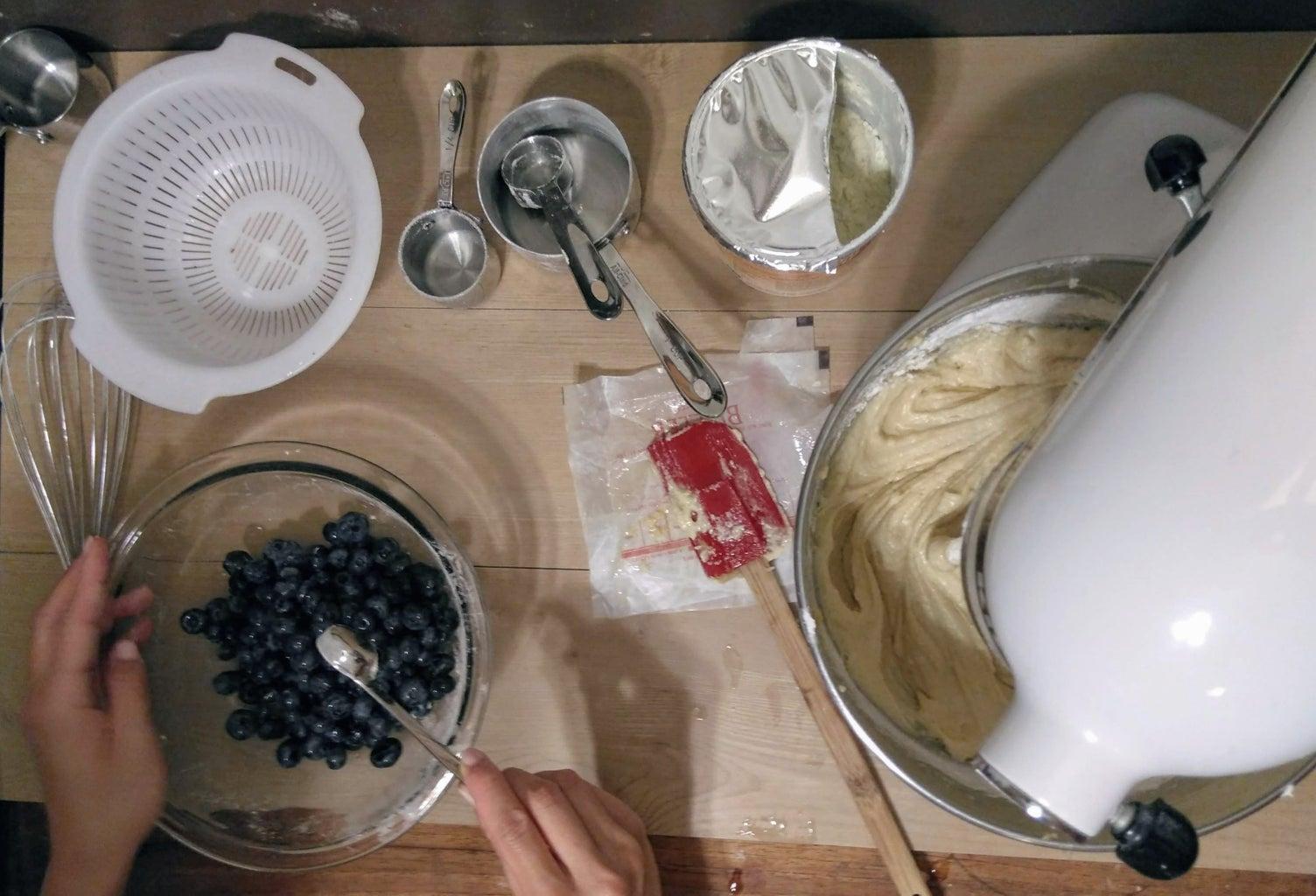 Blueberries Mixes