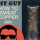 How to Sweat Copper Pipe - DIY Guy