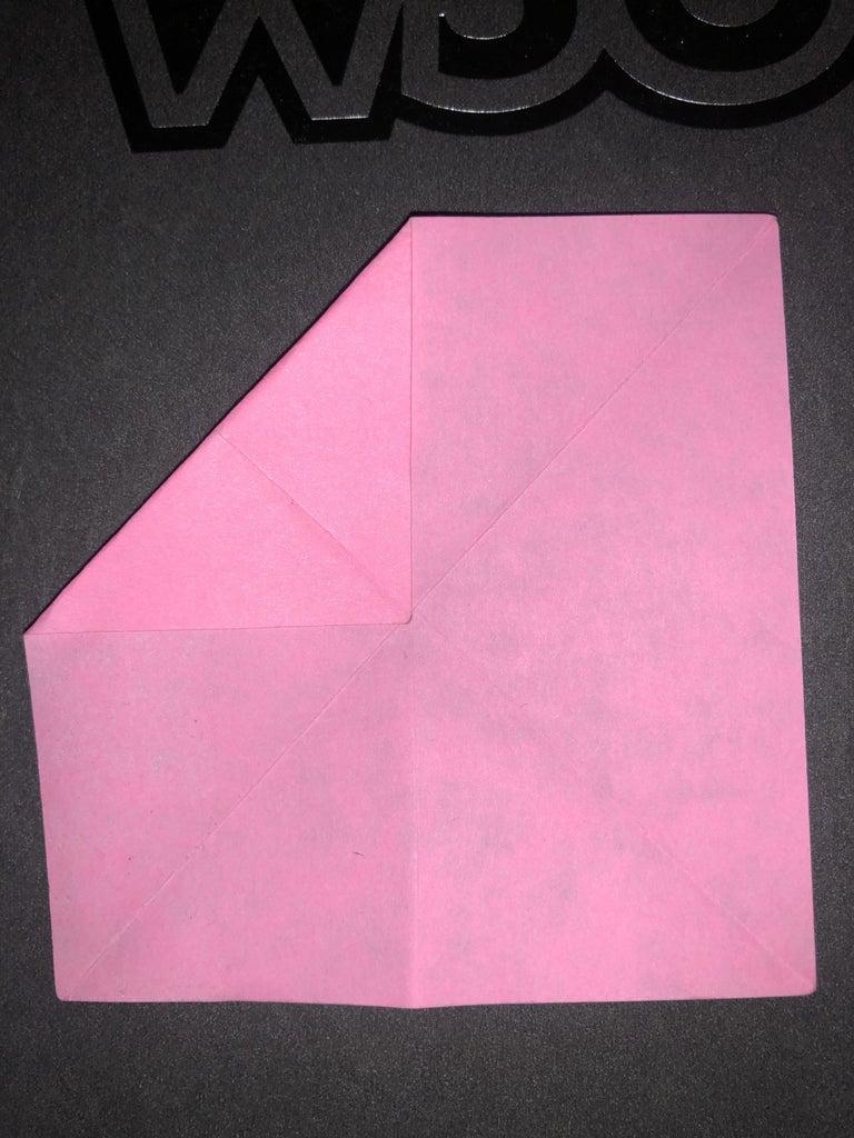Corner Fold to Center